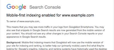 移动优先索引Mobile-First Index